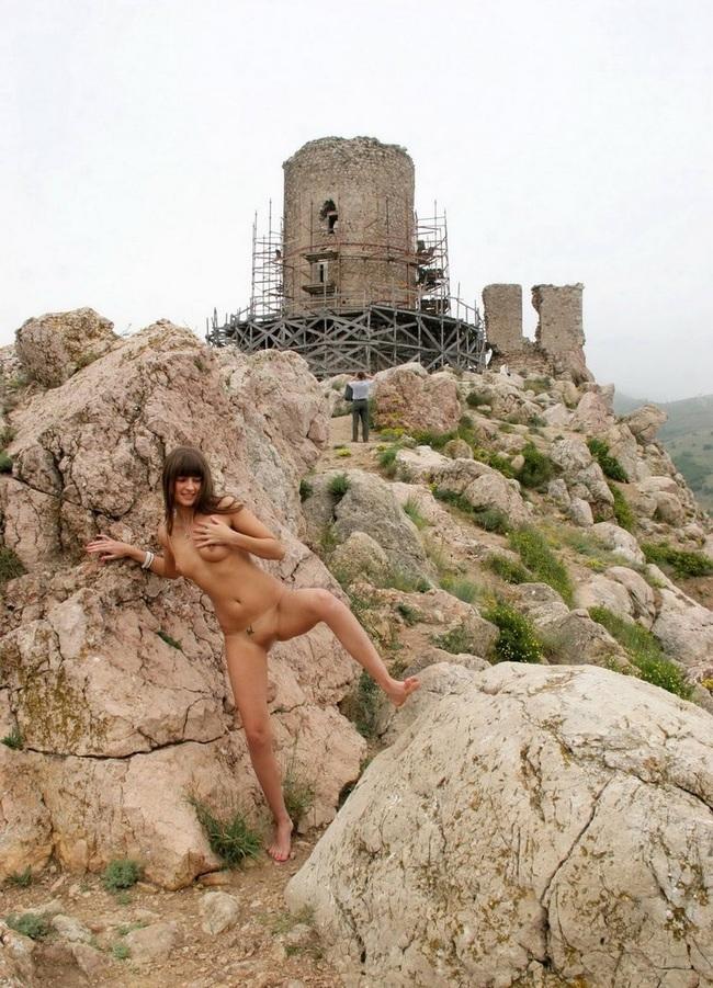 ここはロシアの観光名所か何かでしょうか?