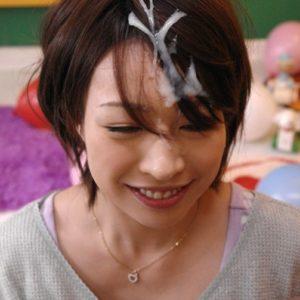 【髪射エロ画像】髪の毛に潤い与えそうな髪の毛へのぶっかけ!(19枚)