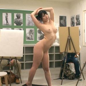 【ヌードデッサンエロ画像】勃起しっぱなしの美術の時間がやってきた!(19枚)