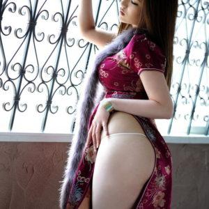 【チャイナドレスエロ画像】一度は着衣セックスしてみたい魅惑の衣装(30枚)