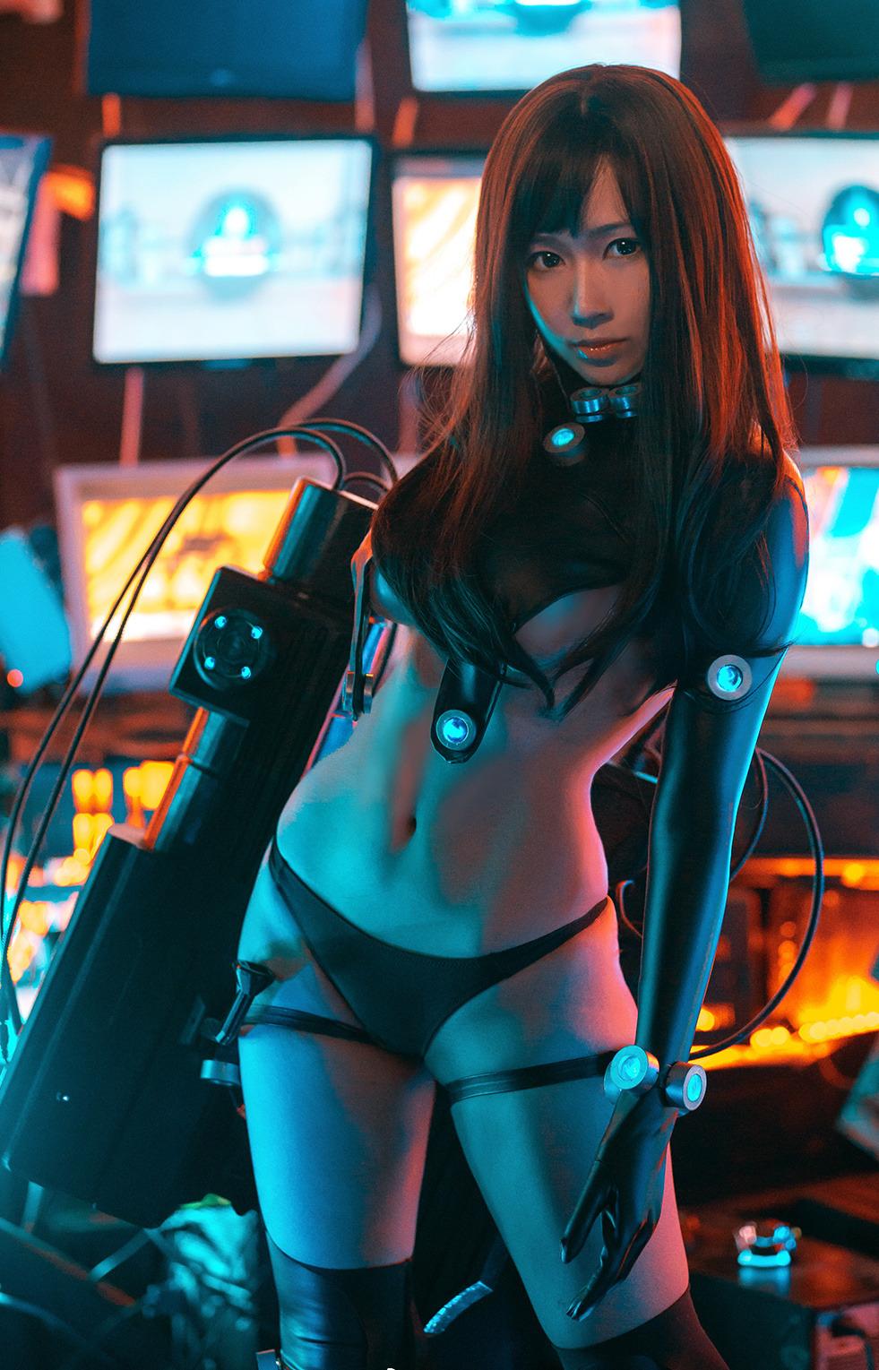【コスプレエロ画像】GANTZのボディにぴったりなスーツがセクシー過ぎたwww(33枚)