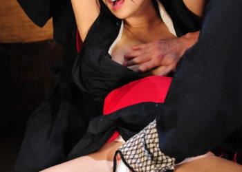 【くノ一エロ画像】忍術を駆使してセクシーに戦うくノ一も時には…(13枚)